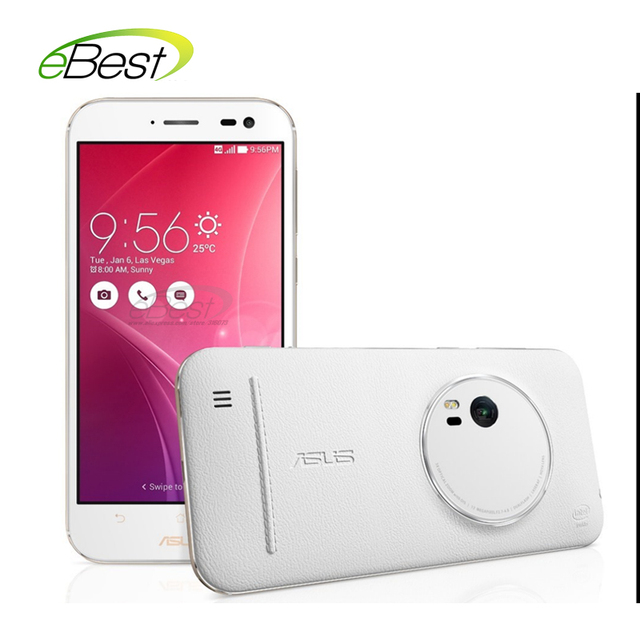 """Origianl ASUS Zenfone Zoom ZX551ML android Smart phone 5.5"""" FHD Z3580 2.3Ghz 4GB / 64GB 3x optical-zoom camera 4G Lte cellphone"""