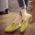 2017 Women Comfortable Hemp Bottom Frisherman Shoes Slip On Zapato Mujer Loafer Round Toe Espadrilles Flats Shoes Spring Autumn
