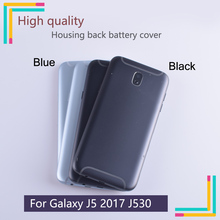New Rear Door For Samsung Galaxy J5 2017 J530 Battery Back Cover Back Housing case For Samsung J530 housing with Logo