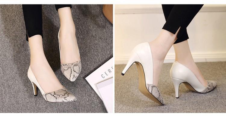 comfortable high heels pointed toe high quality snake grain elegance shoes - free shipping! Comfortable High Heels Pointed Toe High Quality Snake Grain Elegance Shoes – Free Shipping! HTB1enfTNXXXXXX7XFXXq6xXFXXXG