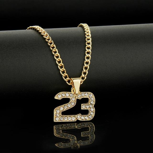 Number 23 Legend Necklaces