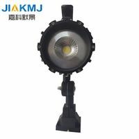 Free delivery LED work lights machine lights 10W 24V COB IP65 LED aluminum shell short arm Fold machine work Lighting