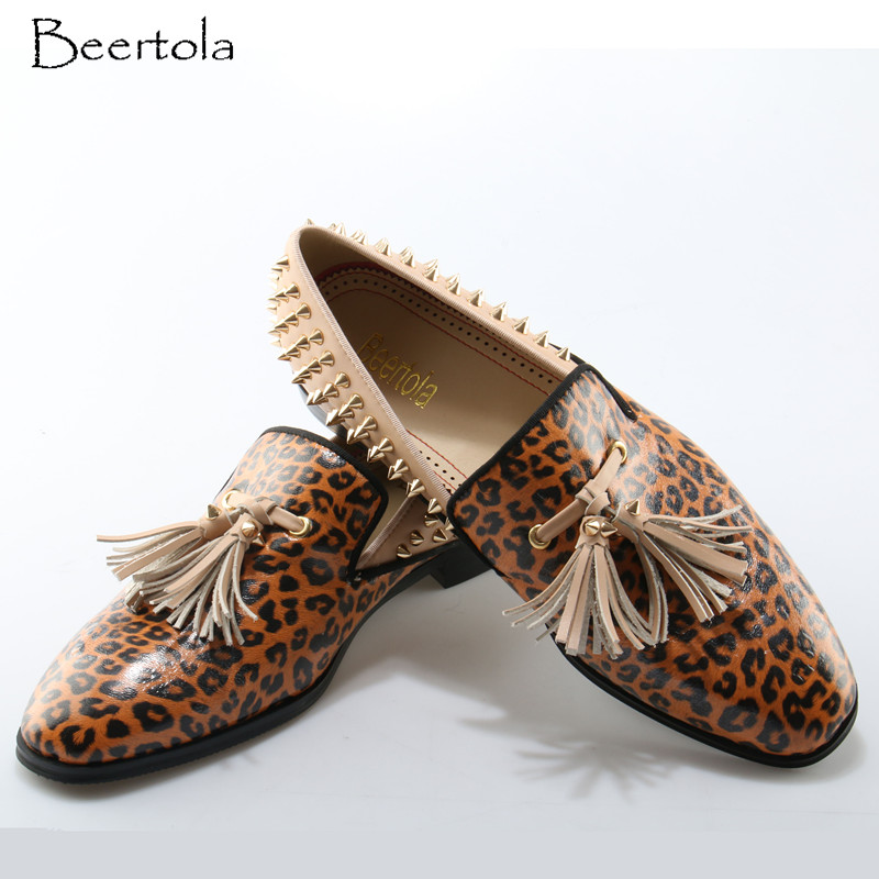 29ed898eeab7 Buy pu leopard leather shoes and get free shipping on AliExpress.com
