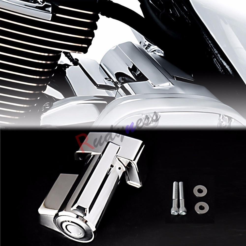 Chrome Starter Cover For Harley Davidson Touring FLHX  FLHR Tri Glide 2007-2016