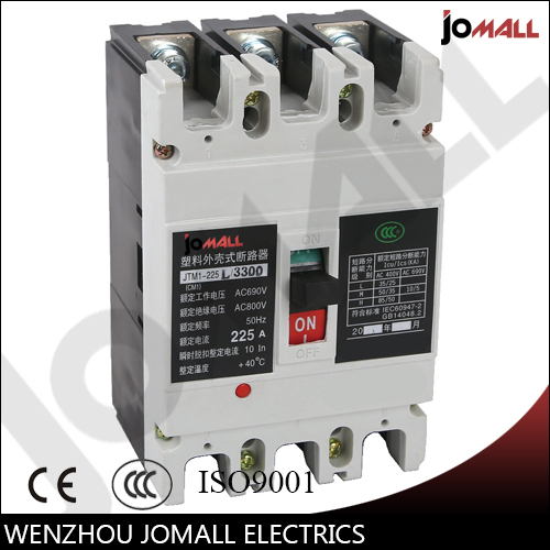 225 Amp 3 pole cm1 type Moulded case type circuit breaker mccb225 Amp 3 pole cm1 type Moulded case type circuit breaker mccb