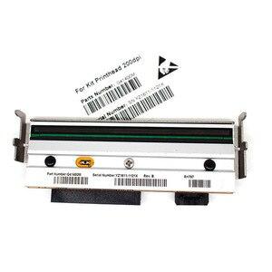 Image 4 - G79056 1M печатающая головка + G77023M пластинчатый ролик, совместимый с принтерами Zebra Z4M Z4M + 203 точек/дюйм для печати этикеток штрих кодов
