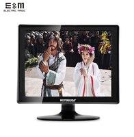 E&M 15 Inch 1024*768 BNC Screen Kit Monitor Set for Raspberry Pi Auto TV Computer Display VGA HDMI AV CCTV LCD Module