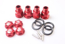 Axle Extenders and wheels nut for Losi 5ive