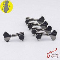 Original Genuine 4+1 GOTOH GB707 5 Strings Electric Bass Machine Heads Tuners ( Cosmo Black ) MADE IN JAPAN