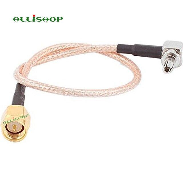 ALLiSHOP w wieku 0-6 GHz sma męski broszki wtyczki złącze do crc9 adapter pigtail RG316 kabel do Huawei PCI router Wi-Fi 3G modem