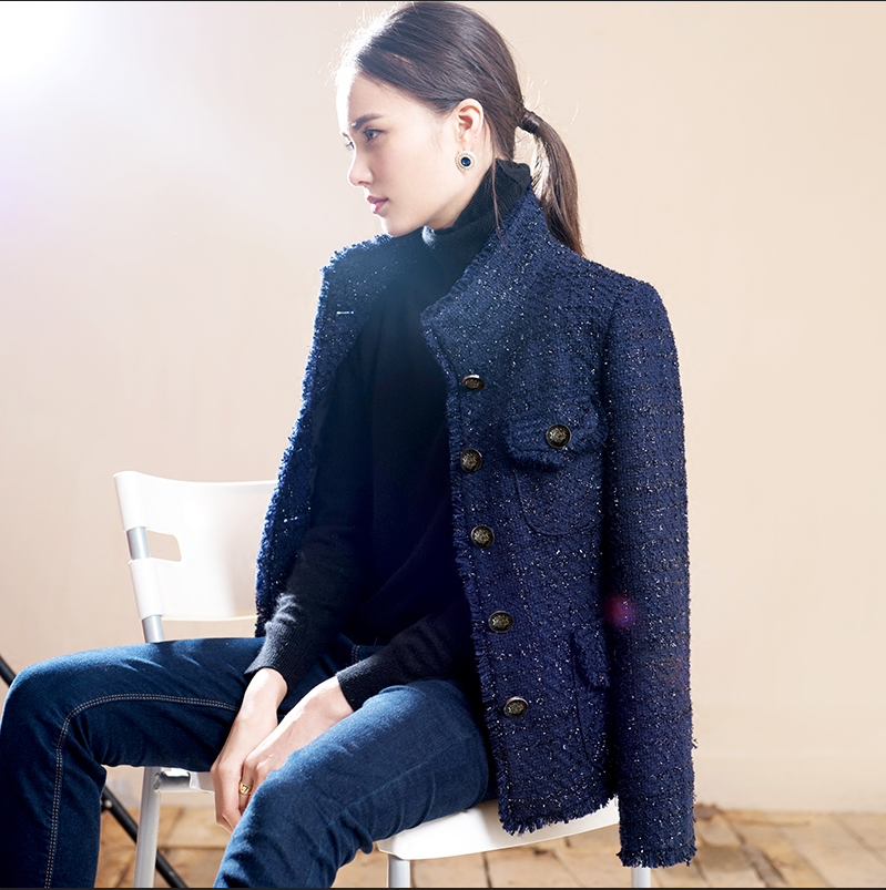 Find navy tweed jacket at ShopStyle. Shop the latest collection of navy tweed jacket from the most popular stores - all in one place. Blue Tweed Women's Jackets Blue Tweed Women's Blazers Chanel Blue Tweed Women's Jackets St. John Blue Tweed Women's Jackets Rebecca Taylor Blue Tweed Women's Jackets.