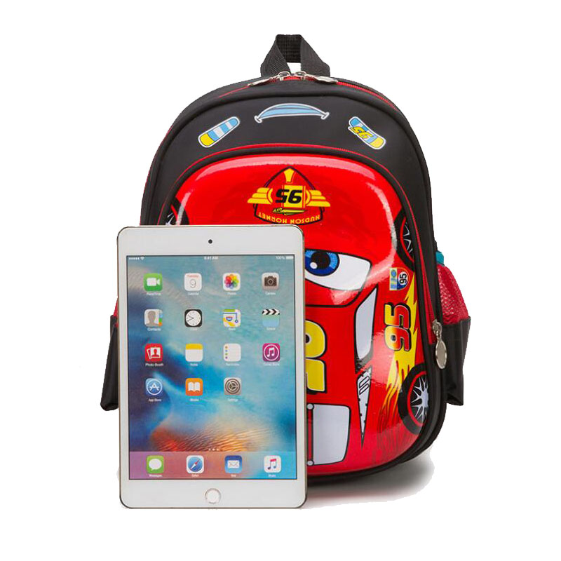 Image 5 - 3D Racing car bag orthopedics school bags for Boy Children waterproof School bag Teenager Schoolbags Kids Student BackpacksSchool Bags   -