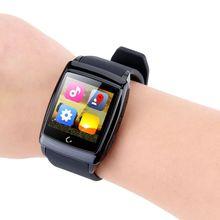 ร้อนขายU Watch U18ดูสมาร์ทที่มีบลูทูธV4 Dual Coreจอips Android 4.4 GPS WiFiกันน้ำเข็มทิศนอนตรวจสอบ