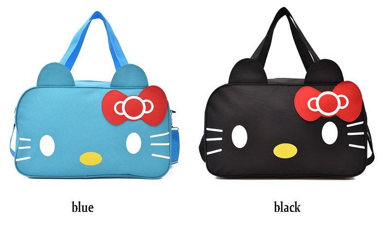 Bolsa de viagem dos desenhos animados kitty