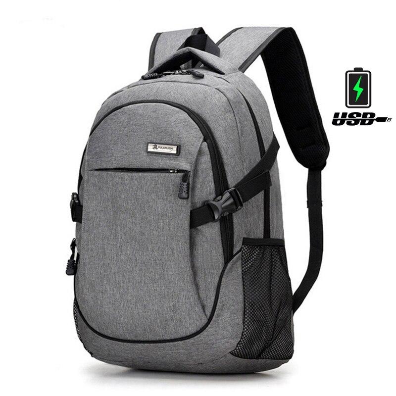 Multi-function Waterproof Nylon Backpack Female Unisex Men Backpacks for Laptop Women Notebook Bag Schoolbag Backpack 15.6 Inch dtbg laptop backpack for men women s 15 15 6 inch backpacks for apple mackbook waterproof nylon school travel bags notebook bag