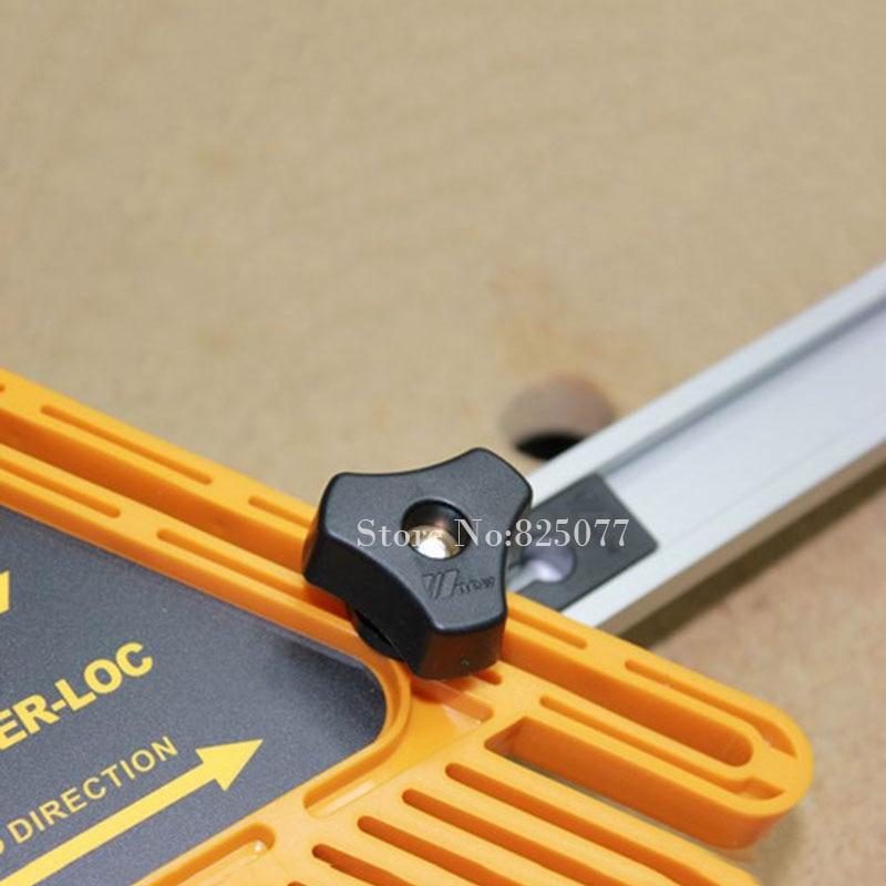 2 SZTUK T-rowki T-rowek Mitre Track Jig Mocowanie uchwytu do routera - Zestawy narzędzi - Zdjęcie 5