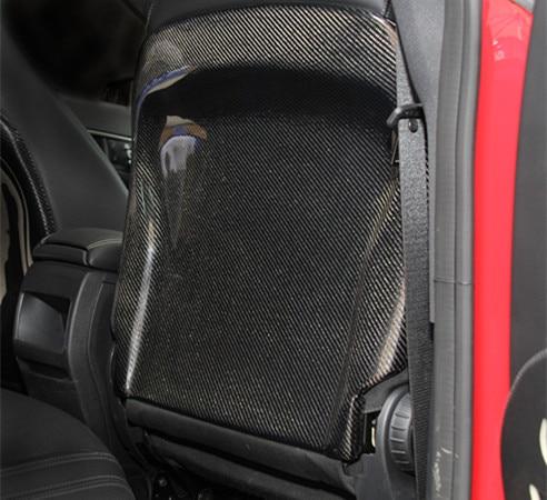 Carbon fiber seat cover back paste For Mercedes Benz A CLA GLA CLASS W176 W117 X156 2013 2014 2015 2016 2017