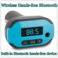 built-in Bluetooth hands-free device 10 M Bluetooth distance LCD blue light display mini Bluetooth MP3 Player