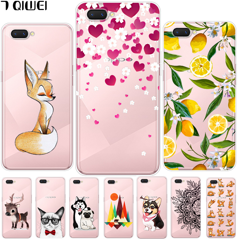 6.2\'\' For Oppo A3S Oppoa3s Case Silicone Soft TPU Back Case For Para Oppo A3S Case A 3S A3 S Cover Cool For OPPO A5 OPPOA5 Funda
