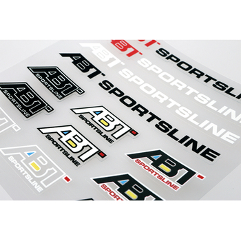 Aliauto Auto Styling ABT Sportsline Accessoires Sticker en Sticker voor Ford Focous Volkswagen Polo Golf Renault Opel Bmw E39 Audi