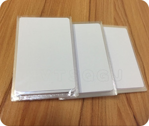 Image 4 - شحن مجاني 50 قطعة بطاقة UID قابلة لإعادة الكتابة تتفاعل 13.56 mhz بولي كلوريد الفينيل رقيقة Uid للتغيير IC كتلة 0 بطاقة للكتابة (1 K)