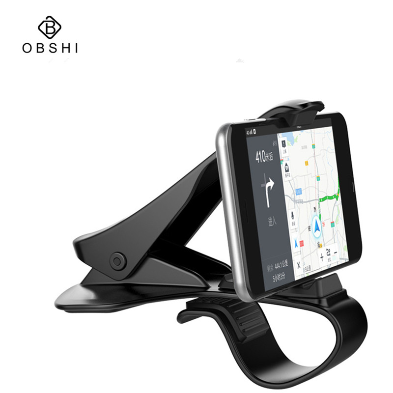 Universal Retro Design Car Dashboard Cell Phone GPS Mount Holder Stand HUD Design Cradle New Car-Styling Phone Stand Support