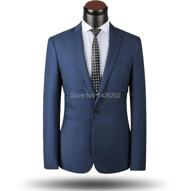 002c98721f Latest Suit with Pants 2015 Formal coat design Bridesgroom Groom one button  men wedding suits M-0167 Dark Blue tuxedos for men