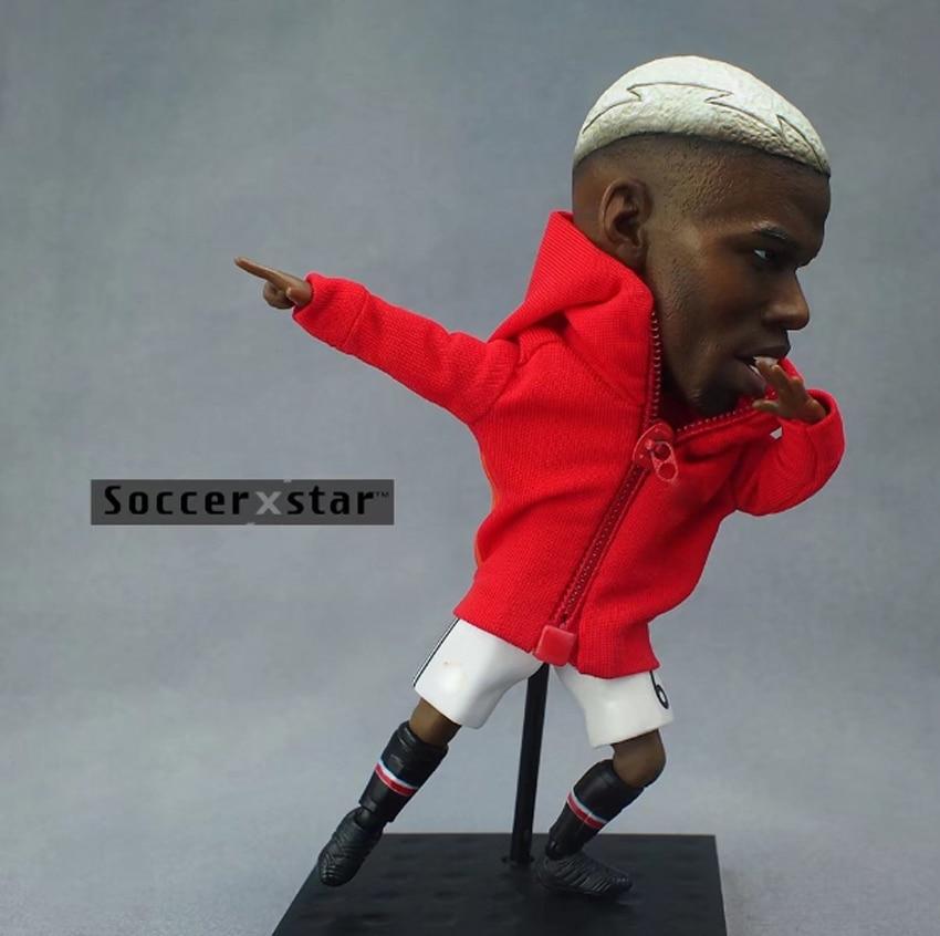 Soccerxstar Figurine Football Player Movable Dolls 6# POGBA (MU 2018) 12CM/5in Figure BOX include Accessories Soccerxstar Figurine Football Player Movable Dolls 6# POGBA (MU 2018) 12CM/5in Figure BOX include Accessories