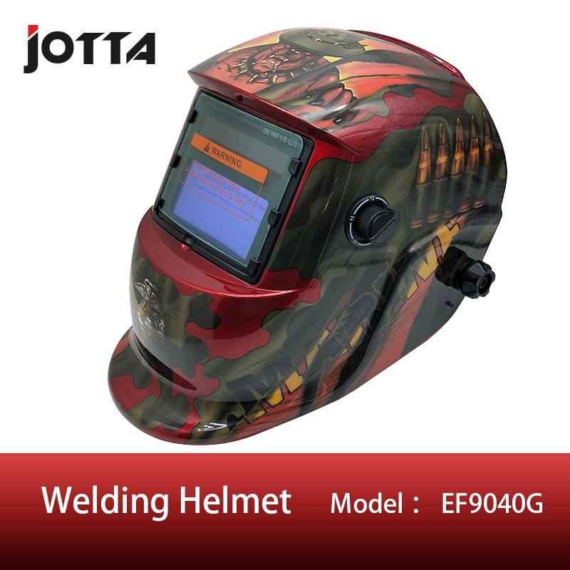 Red Out Adjust  4 Arc Sensor Grinding Cutting Solar Auto Darkening TIG MIG MMA Welding Mask/helmet/welder Cap/face Mask