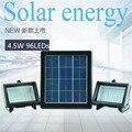 4.5 W painel Solar sensor de luz 96led Lâmpada Luz Spotlight Lâmpadas Holofote Ao Ar Livre Caminho Parede Solar Lâmpada De Emergência Luz de Inundação