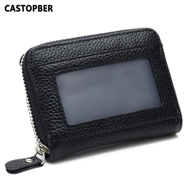 Small First Layer of Cowhide Genuine Leather Changes Coin Purse For Women Zipper Changes Bag Key Case High Quality Bags Famous
