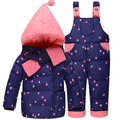 baby girl clothes kids winter duck down coat Children's suit jacket baby set outdoor clothing jacket suit infant warming clothes