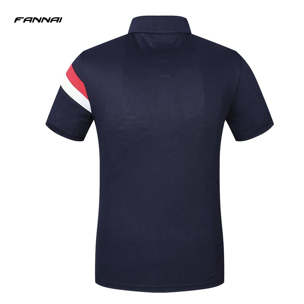 63b9bc4782d Camiseta Polo de manga corta de verano de marca de alta calidad para ...