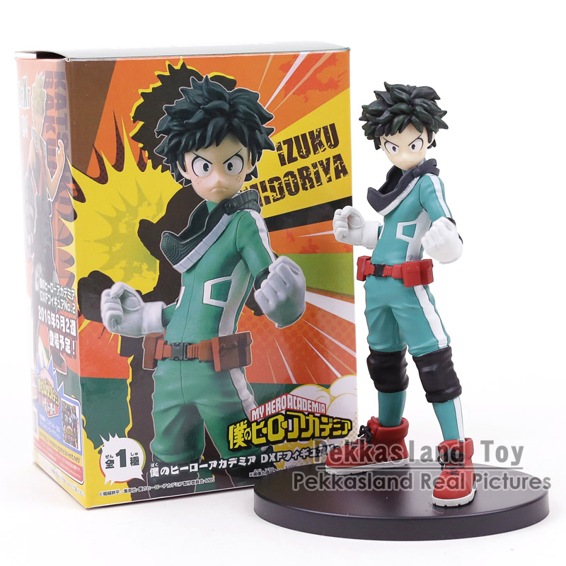 My Hero Academia Boku no Hero Akademia DXF Izuku Midoriya Katsuki Bakugo PVC Figure Collectible Model Toy 17cm все цены