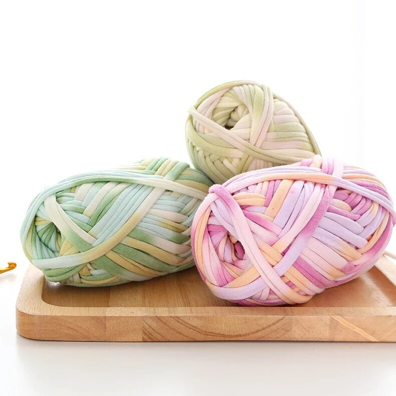 New 100% Product 32M Space Dye DIY Handmade  Basket Blanket Toys   Yarn