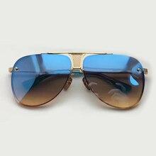 Pilot Sunglasses Men Brand Designer with Packing Box Oculos De Sol Masculino 2017 New Retro Fashion Eyewear Female Sun Glasses
