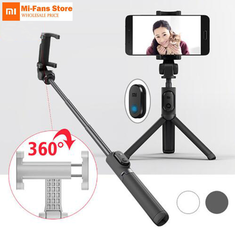 Compact LG Risio Black Extendable Wireless Self Portrait Selfie Stick Stick Handheld Monopod for Smartphones and Cameras with Shutter Controls Button on Handle