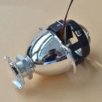 1.8inch'' H1 HID Bixenon / Bifocal Headlight Projector Lens for H4 H7 Socket 2016 New Car Styling Retrofit