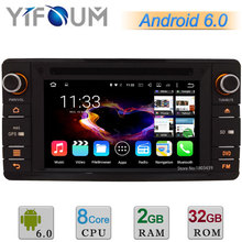 Android 6.0 Octa Core 2GB RAM 32GB ROM Car DVD Multimedia Player Radio Stereo GPS For Mitsubishi Outlander Lancer Asx 2012-2015