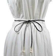 Простой женский пояс с узлом, супер волокно, кисточки, декоративный пояс, галстук-платье, женская одежда, пояс, высокое качество, женские тканые ремни