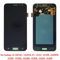 Original LCD Display+Touch Panel for Galaxy J3(2016)/ J320&J3/J310/J3109, J320FN, J320F, J320G, J320M, J320A, J320V, J320P
