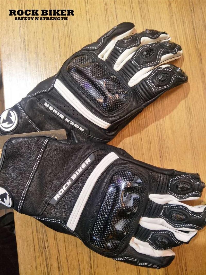 Motorcycle leather gloves waterproof - New Model Rock Biker Motorcycle Leather Glove Ride Gloves Motorcycle Gloves Windproof Waterproof China