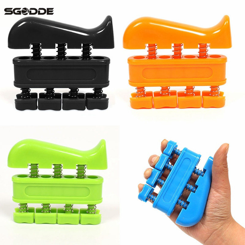 SGODDE  Two-way Grip Hand Exerciser Finger Strength Training Rehabilitation Hand Fitness Small Equipment High Quality