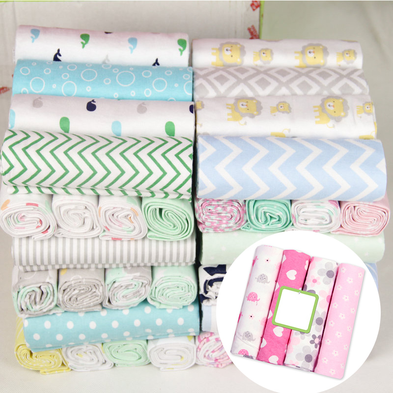 100% Cotton Muslin Diapers Baby Swaddle Baby Blankets Newborn Muslin Blanket Infant Wrap Soft Children's Blanket Swaddle Wrap