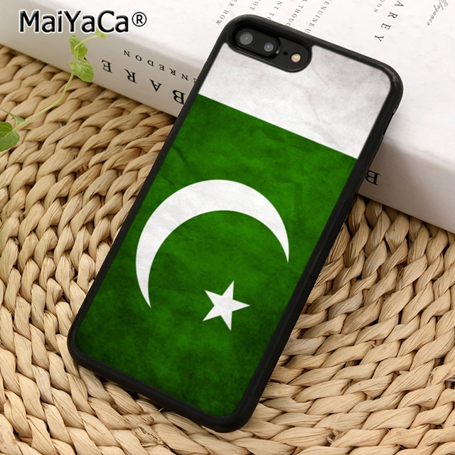 MaiYaCa Pakistan Flag Phone Case Cover for iPhone 5 5s SE 6 6s 7 8 X XR XS max samsung galaxy S5