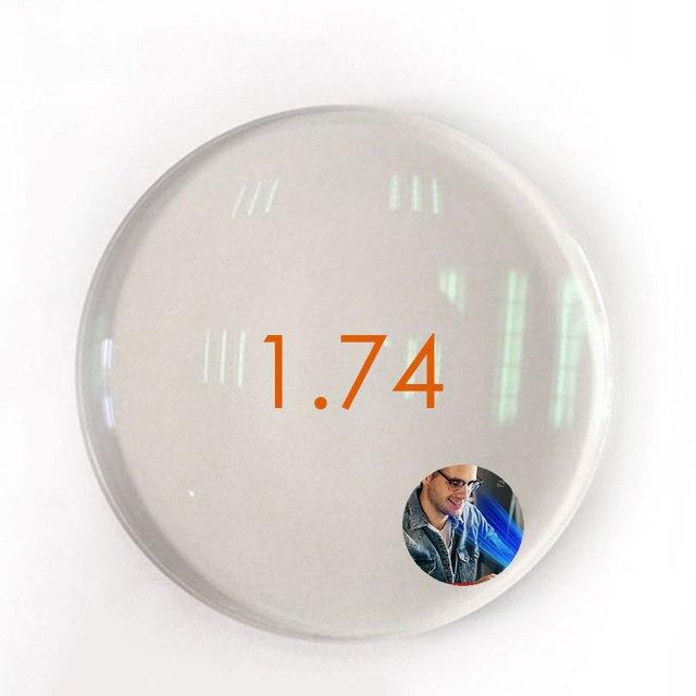Блокирующий светильник синего цвета для линз при близорукости, астигматизме, пресбиопии, чтения, асферические полимерные линзы HMC 1,56/1,61/1,67/1,74