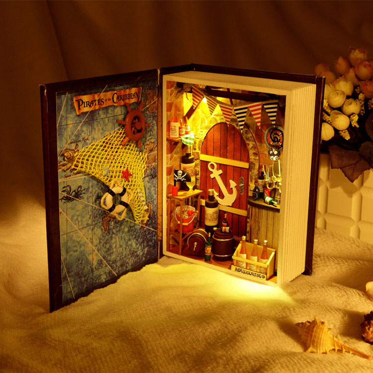 Книги домики для кукол