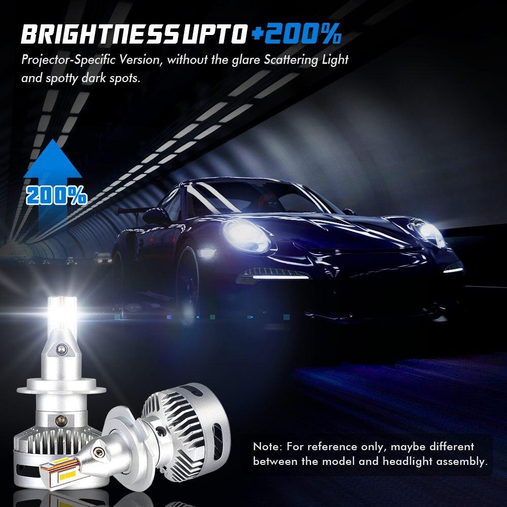 NOVSIGHT Car Projector Headlight H7 Led H7 H11 9005 9006 9012 D5 D2 D4 D1 D3