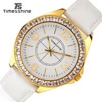 Timesshine Luxury Diamond Quartz Watch 2017 Women Brand Watch Uhren Damen Watches Women Fashion Creative Clock