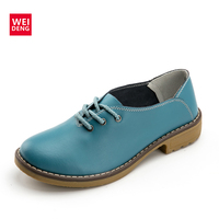 Weideng Wei Deng Autumn Single Shoes Documentary Shoes Casual Women S Fashion Leisure Slope Tide Of
